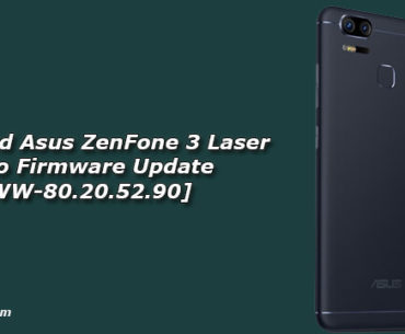 Download Asus ZenFone 3 Laser Oreo Firmware Update [WW-80.20.52.90]