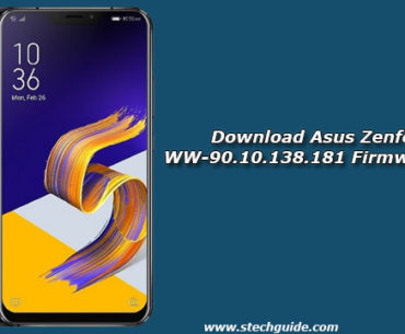 Download Asus Zenfone 5Z WW-90.10.138.181 Firmware Update