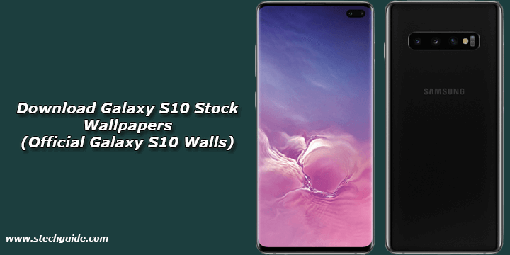 Download Galaxy S10 Stock Wallpapers Official Galaxy S10 Walls