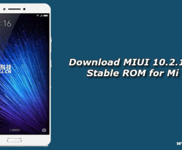 Download MIUI 10.2.1.0 Global Stable ROM for Mi Max 2