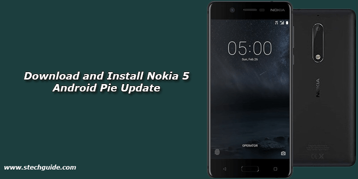 Download and Install Nokia 5 Android Pie Update