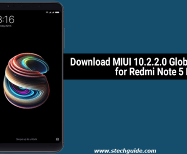 Download MIUI 10.2.2.0 Global Stable ROM for Redmi Note 5 Pro