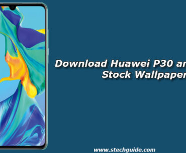 Download Huawei P30 and P30 Pro Stock Wallpapers