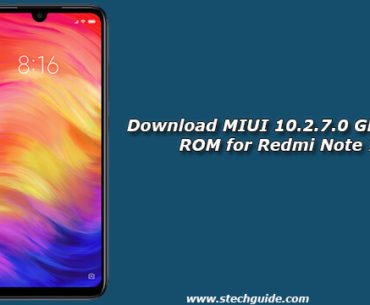 Download MIUI 10.2.7.0 Global Stable ROM for Redmi Note 7