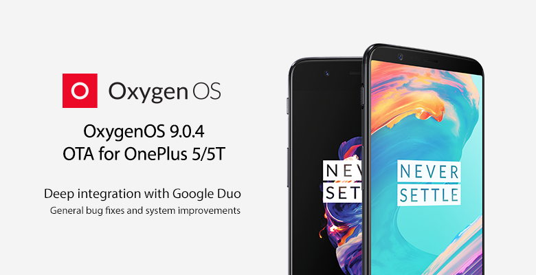 Download OxygenOS 9.0.4 for OnePlus 5 and OnePlus 5T