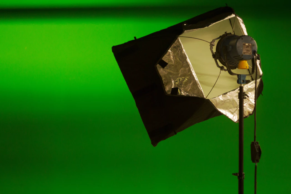 Recording with a Green Screen
