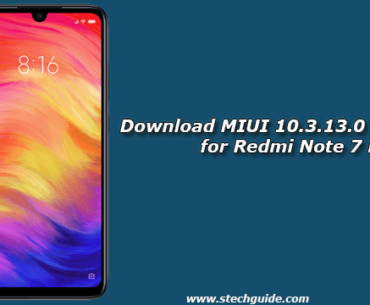 Download MIUI 10.3.13.0 Stable ROM for Redmi Note 7 Pro