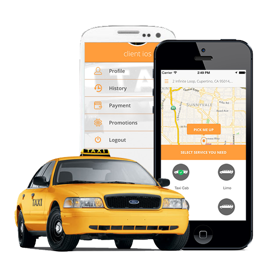 Complete Uber-like App for Taxi Dispatch