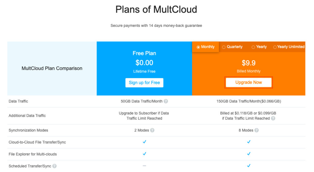 How to Add Cloud Drives in MultCloud