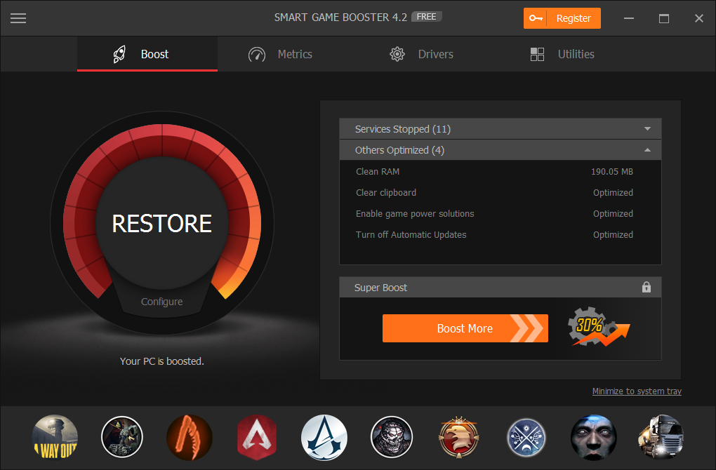 Improve Your Gaming PC Performance with Smart Game Booster