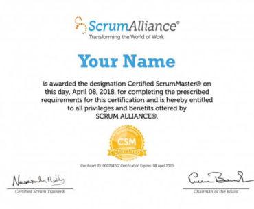 Scrum Certification Training