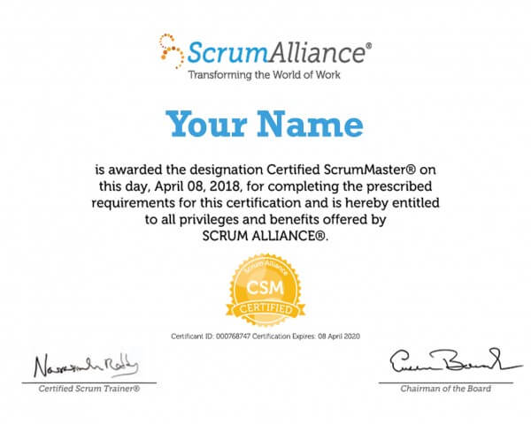 Scrum Certification Training
