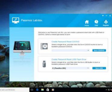 WinPWD Windows Password Recovery Tool