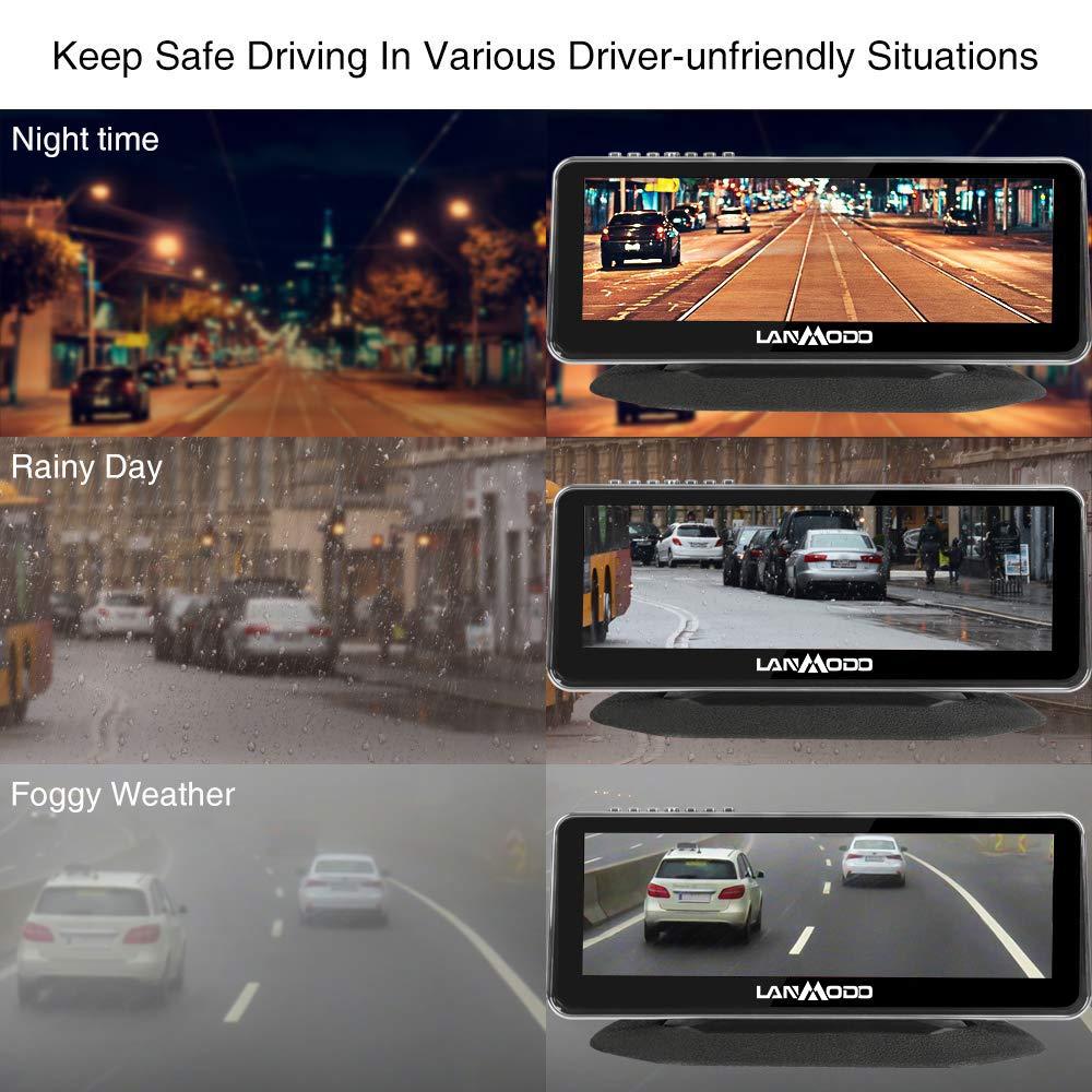 Lanmodo Automotive Night Vision Camera