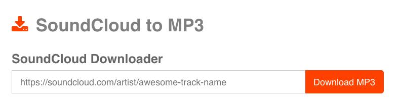 Download Soundcloud Songs
