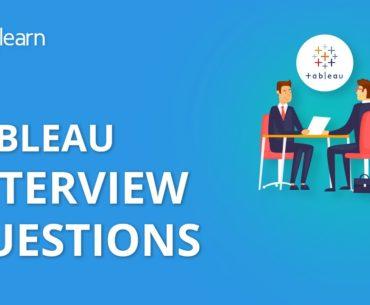 Tableau Interview Questions